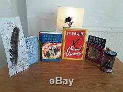Harry Potter Rare Misprint First Editions & Casual Vacancy Signed With Hologram