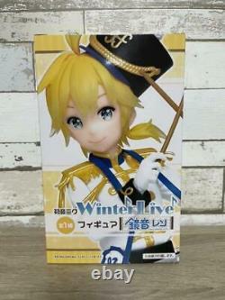 Hatsune Miku Kagamine Rin Len Winter Live Figure Set of 3 TAITO Prize Vocaloid