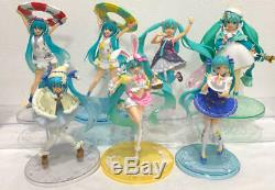 Hatsune Miku TAITO Figures Bundle Bulk Sale Wholesale Lots 7 set from Japan