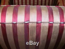Henredon Upholstery Collection Luxury Wingback Arm Chairs + Couch Cushions