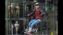 Hot Toys Back to the Future II (Brand New) Marty / Dr Emmett Figures 1/6th Scale