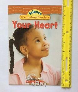 Human Body Childrens Books Health Science Nonfiction Leveled Readers J-K Lot 6