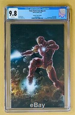 Immortal Hulk #1, THOR #1, & Tony Stark (Iron Man) #1 Andrews VIRGIN CGC 9.8