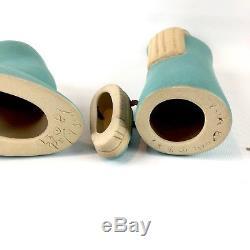 Jack Black Navajo Pottery Christmas Creche Nativity Set 11 Piece Signed Dated