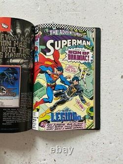 John Byrne Superman Four Volume Omnibus style Custom Bound Hardcover Set DW