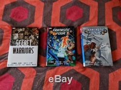 Jonathan Hickman Fantastic Four 1+2 Secret Warriors Omnibus Complete Lot Oop