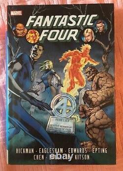 Jonathan Hickman Marvel Universe Set 17 Rare + OOP Omnibus / HCs