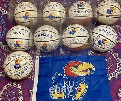 Kansas Jayhawk Autographed Team Basketballs Biggest collection EVER on ebay