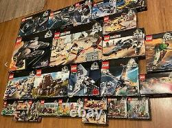 LEGO Star Wars Collection / 25 Vintage Sets with Mini Figs