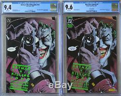 LOT BATMAN THE KILLING JOKE #nn 1988 CGC 9.4 & DETECTIVE COMICS #1 CGC 9.6 (NM+)