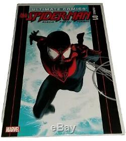 (LOT OF 3) ULTIMATE SPIDER-MAN #1 & MARVEL PREVIEWS WithMILES ON BACK COVER