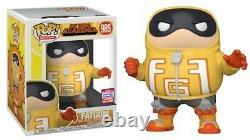 LOT of 10 FUNKO POP My Hero Academia Fatgum 2021 985 SDCC IN HAND