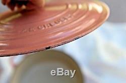 Le Creuset Cast Iron Set 6 Vintage Apricot Dutch Oven, Saucepot, Skillet, Etc