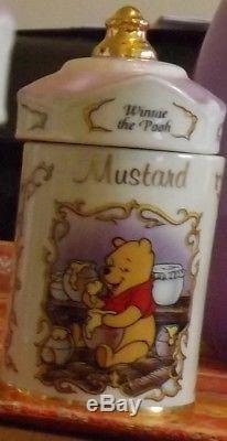 Lenox Disney Spice Jars Fine Porcelain Herb, bundled price