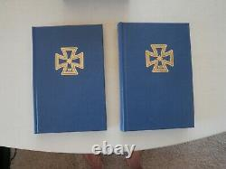 Limited Edition Adolf Galland Lot 2 Signed Books Leather Wrap Slipcase Rare Mint