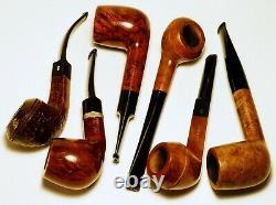 Lot 10 Estate Pipes Peterson, Barling, BC, Cellini, Venini, Keller, Perkins, Heritage