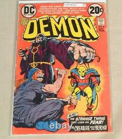 Lot of 16 Demon #1 FN/VF 7.0 & #2-16 complete set 1st appearance 1972 Kirby art