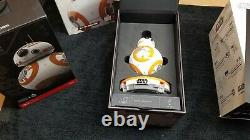 Lot of 2 Star Wars Sphero Disney App-Enabled Droid R2-D2 BB-8 With Droid Trainer