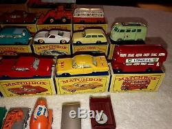 Lot of 30 Matchbox SERIES vintage rare collectible toys Lesney Made In England