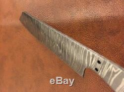 Lot of 3 Handmade Damascus Steel Chef-Kitchen Blank Blade-Knife Making-Kling-K9