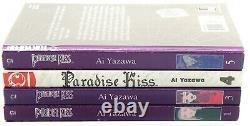 Lot of (4) Paradise Kiss Volumes 1,3,4,5 In English Ai Yazawa Manga Books