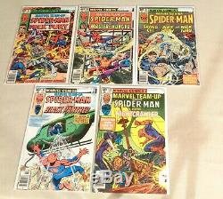 Lot of 50 Marvel Team-Up #5-#100 Spider-Man 1972-1980 Mark Jewelers inserts