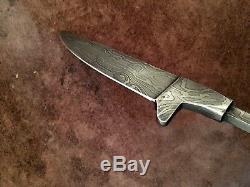 Lot of 5 Handmade Pattern Welded Damascus Steel Bavarian Blank Blades-B140