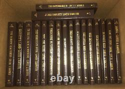 Louis LAmour Collection Leatherette Complete Set 121 Vol. Very Good FRONTIER