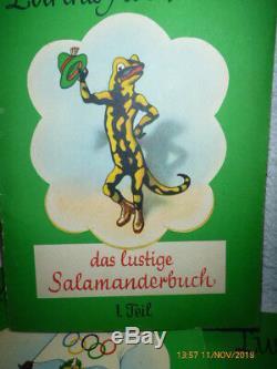Lurchis Abenteuer das lustige Salamanderbuch ERSTAUSGABE 1962