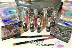 MAC Selena La Reina Complete Make Up Set + Collector Bag 15pc 2020 Collection