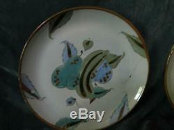 MID Century Mexico 36 Pc Set Ken Edwards Tonala El Palomar Pottery Blue Birds