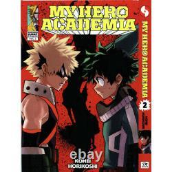 MY HERO ACADEMIA Kohei Horikoshi Manga Volume 1-25 English Complete Set Comic