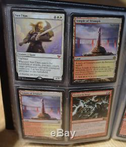 Magic the gathering Personal Collection Rares Mythics Card Binder TCG