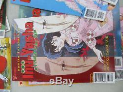 Manga Inu Yasha feudal fairy tale Rumiko Takajashi Big lot