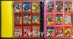 Marvel Comic Cards 3 SETS & CHASE & BINDER 92 X-MEN, 93 X-MEN 2, 94 Ultra X-MEN