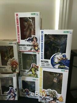 Marvel DC Kotobukiya Bishoujo Rogue Psylocke Dark Phoenix Catwoman Ms. Jean Grey