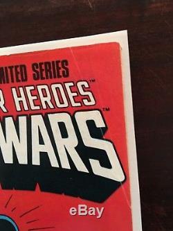 Marvel Secret Wars 1,2,3,5, 6, 7,8,9,10