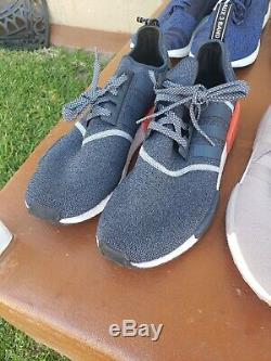 Men's Size 13 Adidas NMD/ Ultra Boost Uncaged Bulk Collection Sneaker Lot