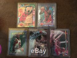 Michael Jordan Topps Finest Collection