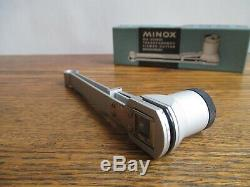 Minox B Mini Camera with Collection of Attachments Tripod Viewfinder View Cutter
