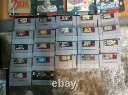 NES, SNES, Sega, N64, Gamecube, my 35 year collection CIB games and CIB consoles