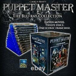 NEW Puppet Master Blu-ray 12 Disc Horror Movie Box Lot Collection Set FREE cards