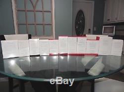 NIB Complete Set of 10 Hallmarks Christmas Vacation Ornaments 2009 2018 +Bonus
