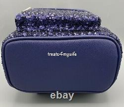 NWT Loungefly Disney Cruise Line MINNIE MOUSE SEQUIN Mini BackpackFanny Pack A