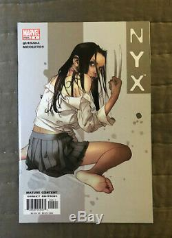 NYX #1-7 MARVEL 1st x-23 FREE SHIPPING