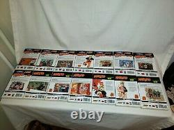 Naruto English Manga Near Complete Set Volumes 1-72 (No 42 & 61) Omnibus Jump