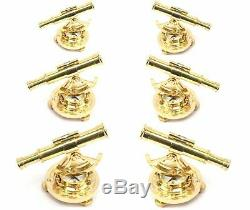 New Maritime Alidade Compass Shiny Brass Marine Collectibles buy SET OF 6 STYLE