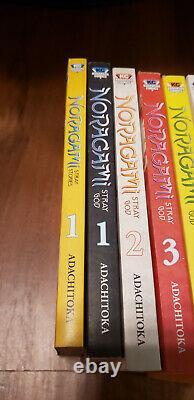 Noragami Stray God + Noragami Stray Stories Manga Lot Set (Vol. 1-20 and 1)
