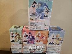 Official Bandai Tamashii Zero Guardian Sailor Moon Crystal Figures Set Lot
