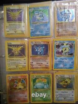 Original Pokemon Lot Base Set Jungle, Fossil, HOLO, SHADOWLESS, 1ST EDITION 20 Cards
